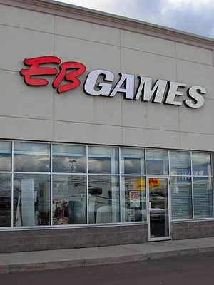 EB Games - An EB Games store in Mapleton Shopping Area in October 2008.