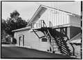 EXTERIOR, SOUTH SIDE - Fountain Grove Winery, Champagne Storage Building, Santa Rosa, Sonoma County, CA HABS CAL,49-SANRO,2-E-1.tif