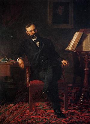 John H. Brinton - Portrait of Dr. John H. Brinton by Thomas Eakins