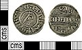 Early Medieval (Anglo Saxon) coin, penny of Burgred (FindID 517652).jpg