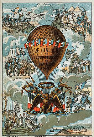 Coronation of Napoleon I - The coronation balloon