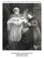 Early life of Christ in the Bowyer Bible print 7 of 21. presentation of Jesus in the Temple & Simeon. Opie.png