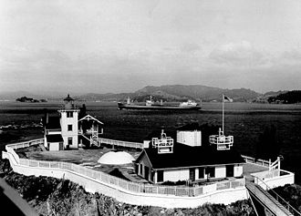 California Historical Landmarks in Contra Costa County - Image: East Brothers Light Station