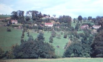 Dundry - The west part of East Dundry in 1962