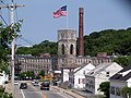 East Main Street and Royal Mill, West Warwick, Rhode Island.JPG