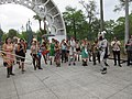 Easter Sunday in New Orleans - Brass Band Jam by Armstrong Arch 13.jpg