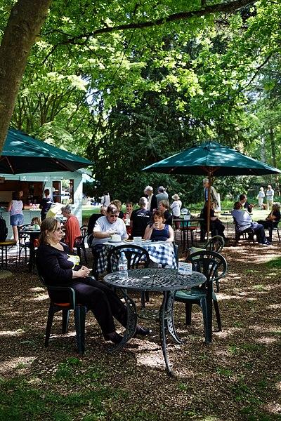 File:Easton Lodge Gardens, Little Easton, Essex, England outdoor café 05.jpg