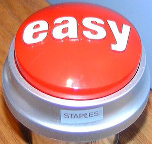 Staples Inc. - The easy button.
