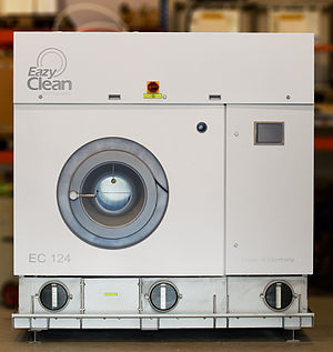 Dry cleaning - Image: Eazy Clean EC124 dry cleaning machine