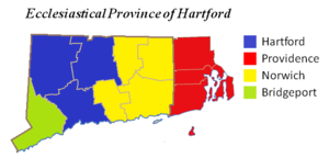 Roman Catholic Archdiocese of Hartford - Ecclesiastical Province of Hartford