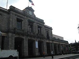 Tlalpan - Palacio de Gobierno or ex Palacio Municipal