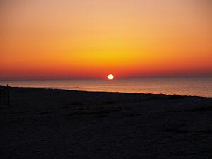 Sunrise at Edisto Beach SC