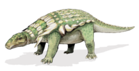 Edmontonia dinosaur