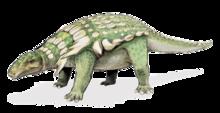 Edmontonia, um famoso anquilossauro.