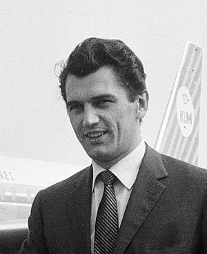 Edmund Purdom - Edmund Purdom in 1962