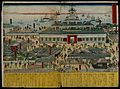 Edo; in the centre is a large mixed-style building planned a Wellcome V0047317.jpg