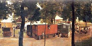 Édouard Joseph Dantan - Fête Foraine de Saint-Cloud (1879)
