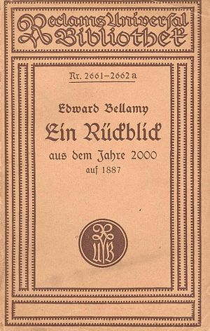 Looking Backward - German Reclam edition 1919