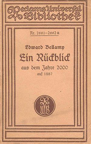 Looking Backward - German Reclam edition 1919