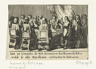 Perpetual Edict (1667) political event in 17th-century Netherlands