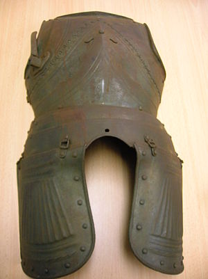 Eglinton Tournament of 1839 - An item of a knight's armour from the 1839 tournament