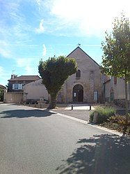 The church in Leignes-sur-Fontaine