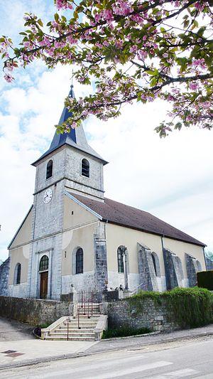 Attignéville - Image: Eglise St Lambert