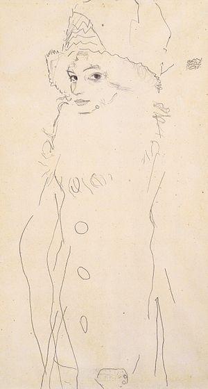 Egon Schiele - Bildnis Gerti Schiele - 1911
