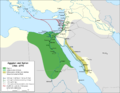 Egypt and Syria 1768 to 1774 map de.png