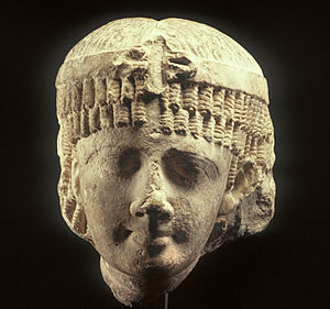 Cleopatra II of Egypt - This head of an Egyptian Ptolemaic queen likely depicts Cleopatra II. Walters Art Museum, Baltimore.