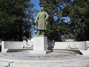E. H. Crump - Statue of E.H. Crump in Overton Park, Memphis, Tennessee.