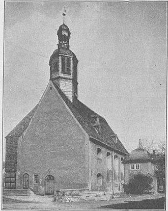 St. Nicholas' Church, Aue - Image: Ehemalige Kirche Aue