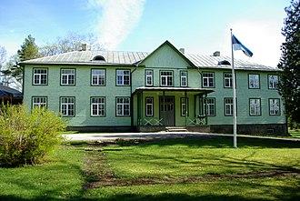 Eidapere - Eidapere Manor