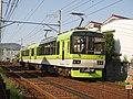 Eiden 901 running between Shugakuin and Ichijoji 20200430.jpg