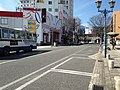 Ekimae-dori Street in front of Beppu Station (west).JPG