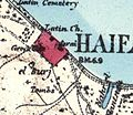 El Burg - Haifa - PEF map 1880.jpg