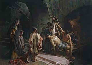 L'Enterrement de Saint Sébastien