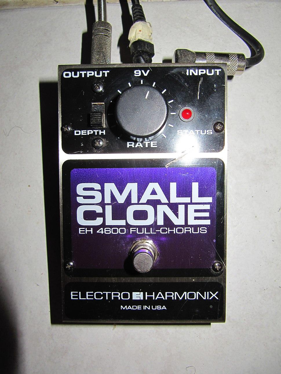 Electro-Harmonix SmallClone Chorus GuitarEffect 1189