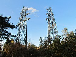 Elektriciteitsmasten 50kV-station Radio Kootwijk.jpg