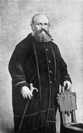 "The French esotericist Éliphas Lévi popularised the term ""occultism"" in the 1850s. His reinterpretation of traditional esoteric ideas has led to him being called the origin of ""the occultist current properly so-called"".[12]"