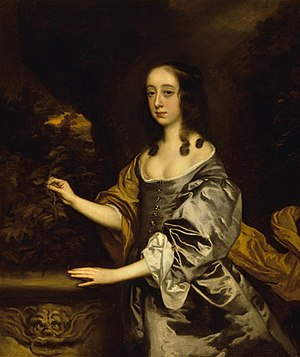 Elizabeth Capell, Countess of Essex - Portrait of Lady Elizabeth Percy by Sir Peter Lely, 1653