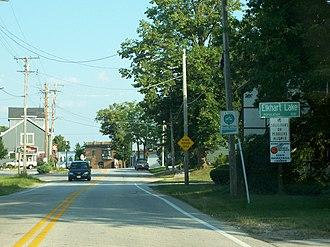 Elkhart Lake, Wisconsin - Image: Elkhart Lake Wisconsin Sign