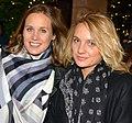 """Eloïse Lang et Noémie Saglio, créatrices de """"Connasse"""", janvier 2016.jpg"""