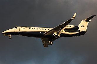 Embraer Legacy 600 - Embraer Legacy 600, gear and flaps down
