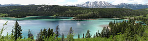 Emerald Lake panoramic, Yukon, Canada.jpg