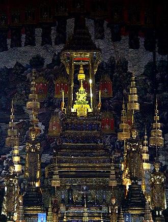 2005–06 Thai political crisis - The Emerald Buddha