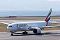 Emirates ,EK9734 ,Boeing 777-F1H ,A6-EFN ,Departed to Los Angeles ,Kansai Airport (16635769486).jpg