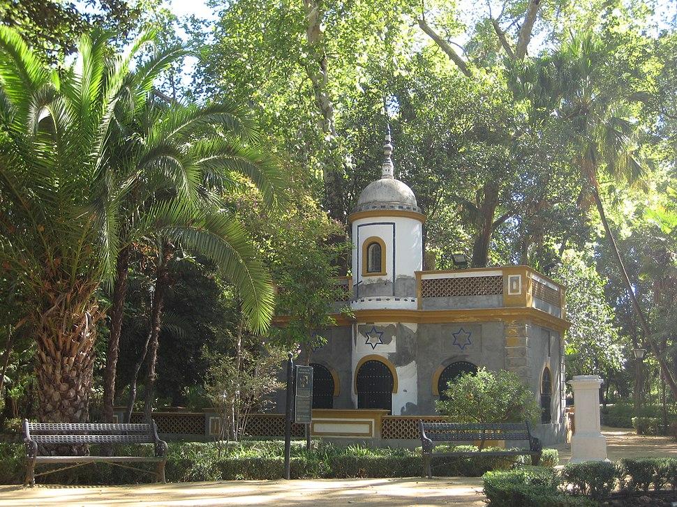 En el parque Maria Luisa