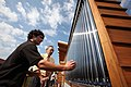 Energy Secretary Chu Speaks with Maryland's Solar Decathlon Team.jpg