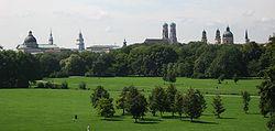 Englischer Garten from Monopteros.JPG